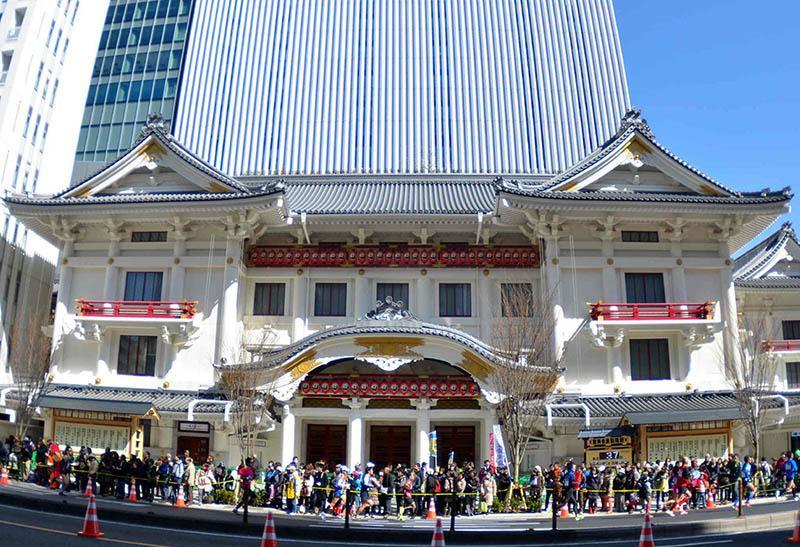 Театр Кабуки в Токио, Гиндза.