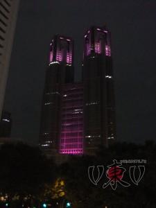 Токийская мэрия вечером