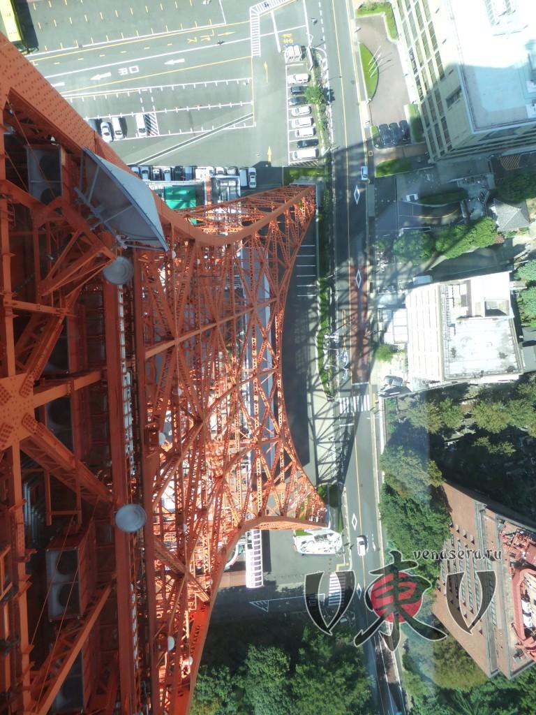 Вид с 250м вниз.