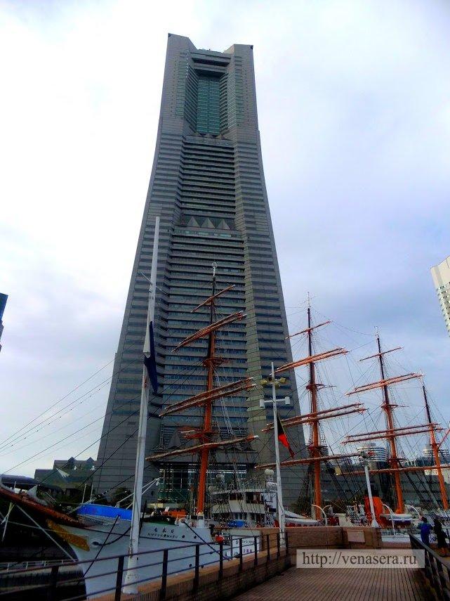Landmark Tower и корабль Ниппон-Мару