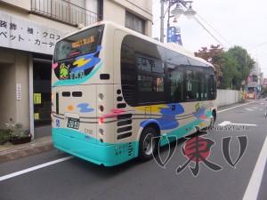 Местный автобус. Токио.
