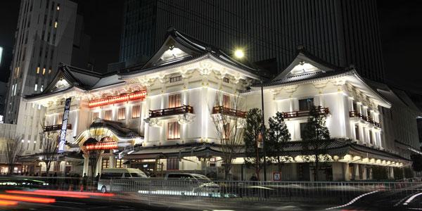 Театр Кабуки в Токио. Гиндза.