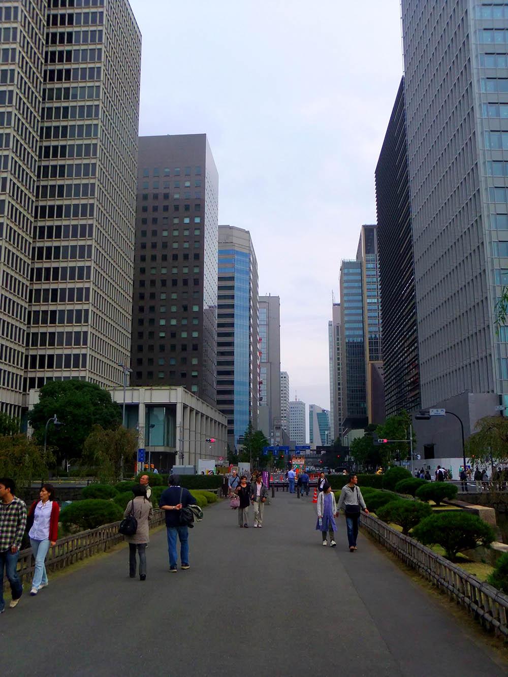 Небоскребы в Токио