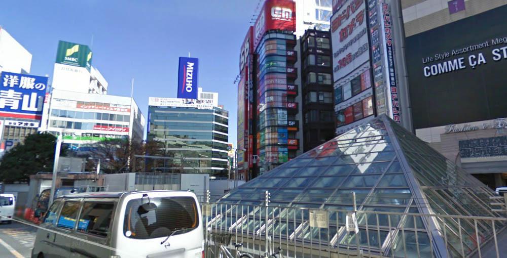 Восточный выход (JR東口)