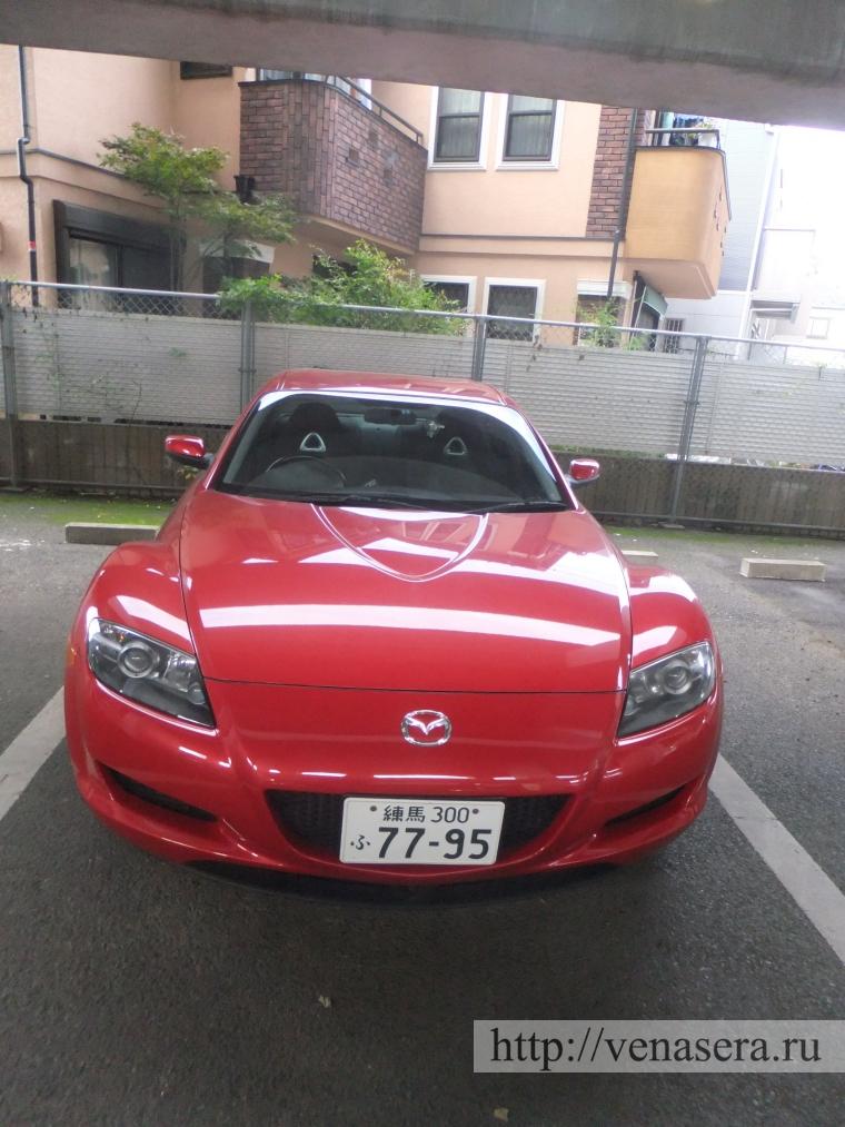 Авто в Японии: мазда