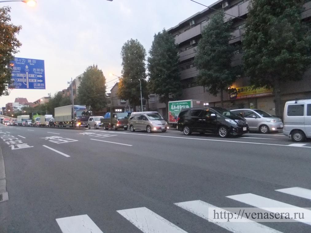 Пробки в Японии